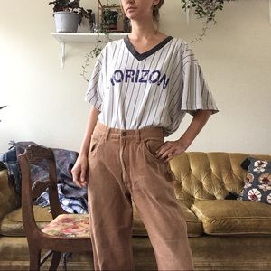 Pants - thick cotton work jeans